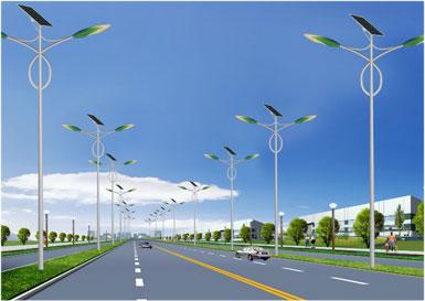 江西南昌太阳能路灯展示