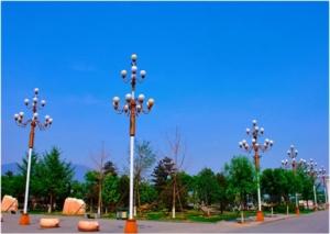 南昌太阳能路灯展示