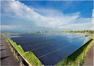 太阳能电站展示